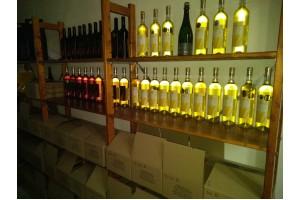 Prodej vína ve vinařství